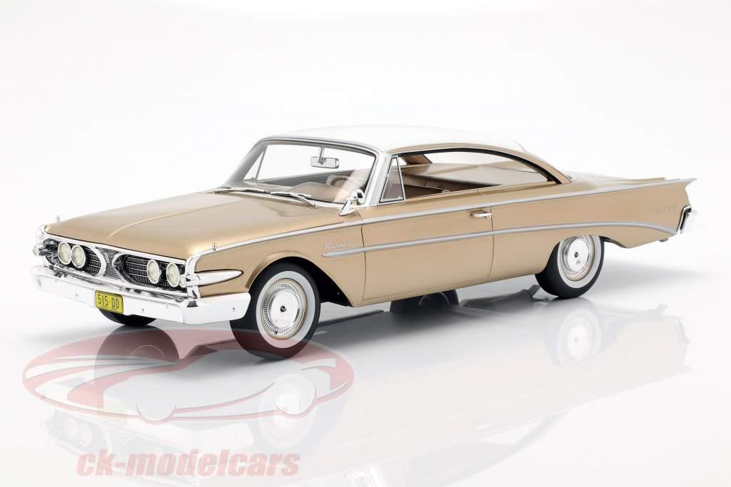 Edsel Ranger Hardtop Bouwjaar 1960 goud / wit 1:18 BoS-Models