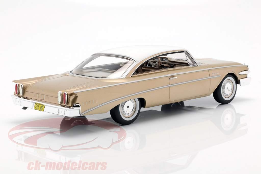 Edsel Ranger Hardtop año de construcción 1960 oro / blanco 1:18 BoS-Models
