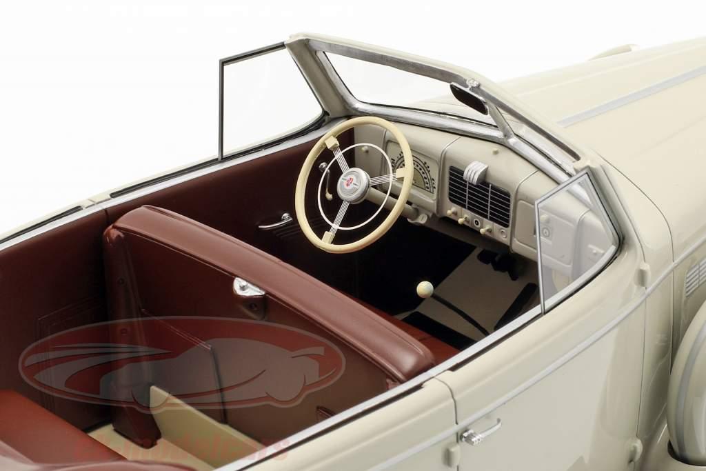 Buick Roadmaster 80-C Four Door Phaeton Cabrio année de construction 1973 gris clair 1:18 BoS-Models