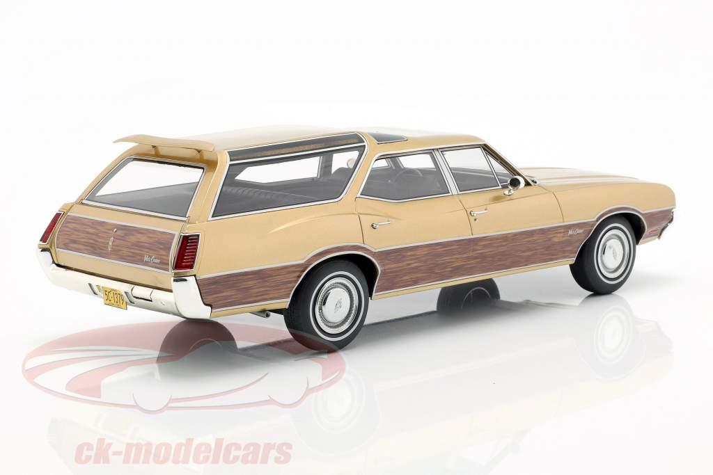 Oldsmobile Vista Cruiser año de construcción 1971 oro metálico 1:18 BoS-Models