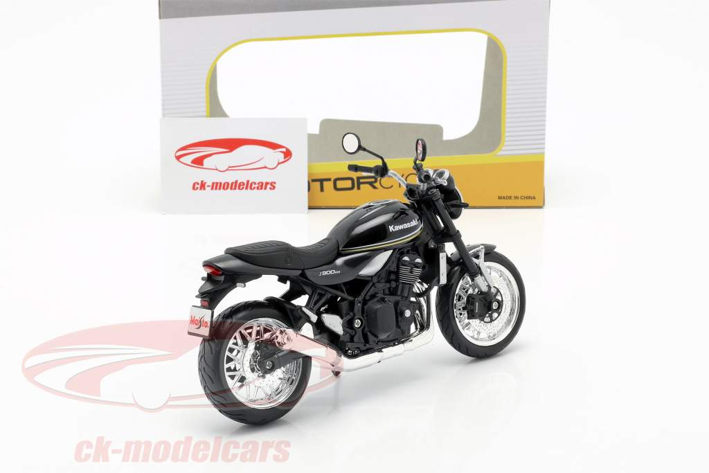 Kawasaki Z900RS Cafe grå / sort 1:12 Maisto