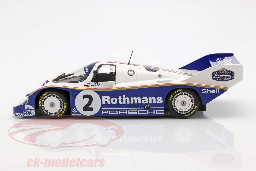 Porsche 956K #2 Winner 1000km Sandown Park 1984 Bellof, Bell 1:18 Minichamps