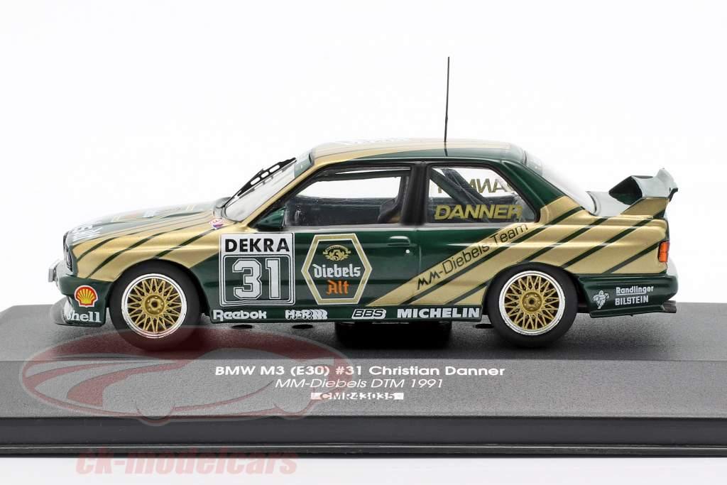 BMW M3 (E30) Sport Evolution #31 DTM 1991 Christian Danner 1:43 CMR