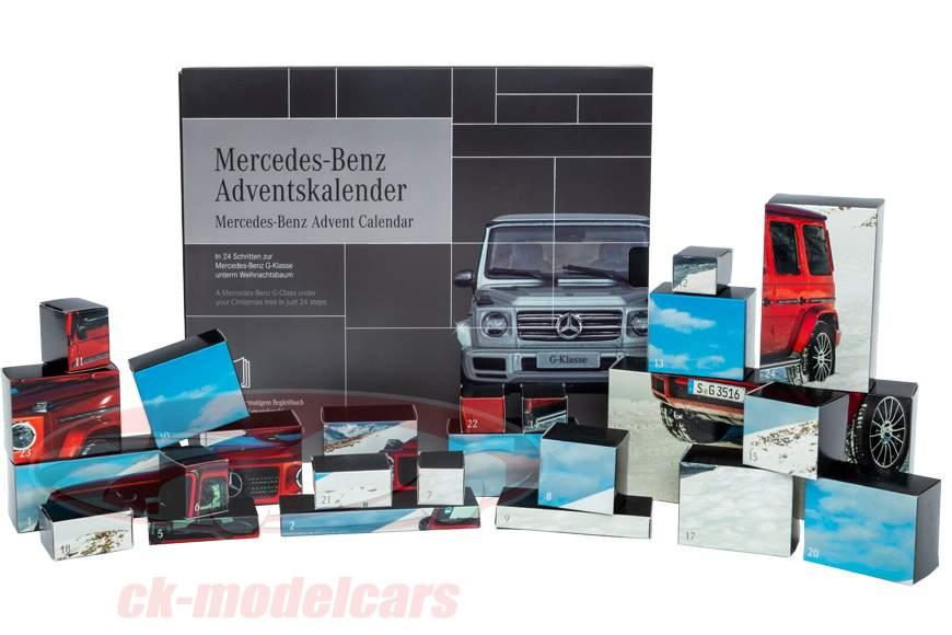 Mercedes-Benz Advent Kalender 2019: Mercedes-Benz G-Klasse 1:43 Franzis