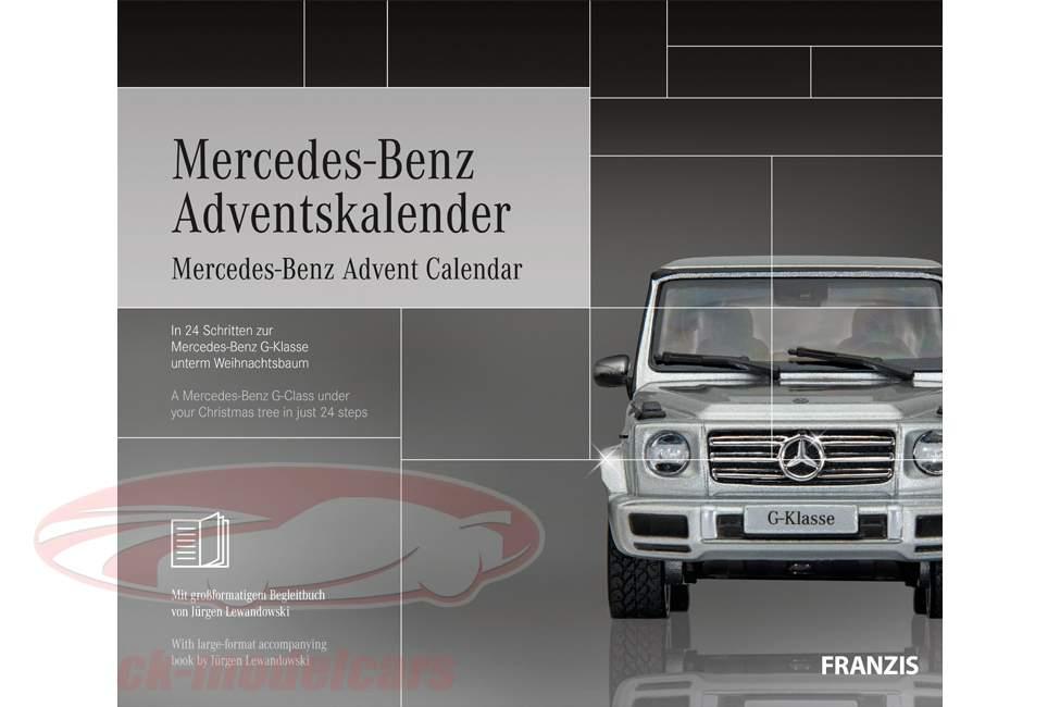 Mercedes-Benz Julekalender 2019: Mercedes-Benz G-klasse 1:43 Franzis