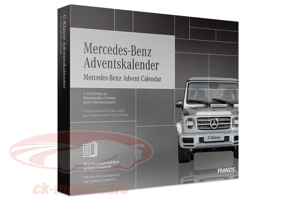 Mercedes-Benz Calendario de Adviento 2019: Mercedes-Benz G-Class 1:43 Franzis
