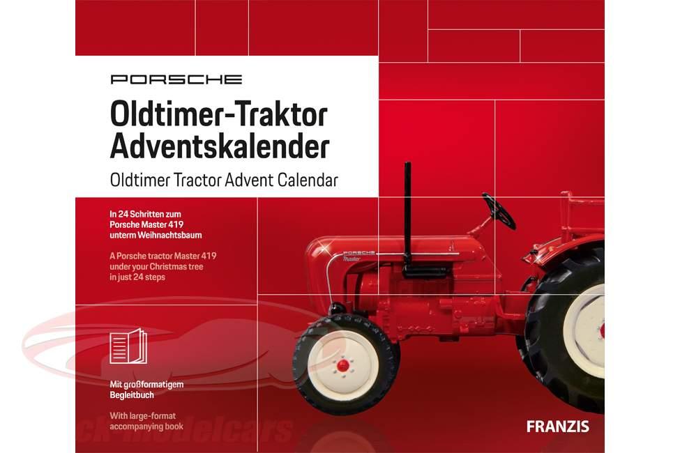 Porsche Oldtimer trattore Calendario dell'Avvento 2019: Porsche Master 419 1:43 Franzis