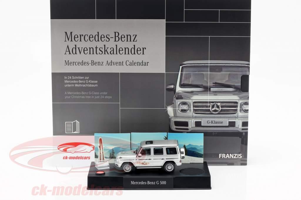 Mercedes-Benz Calendrier de l'Avent 2019: Mercedes-Benz G-Class 1:43 Franzis