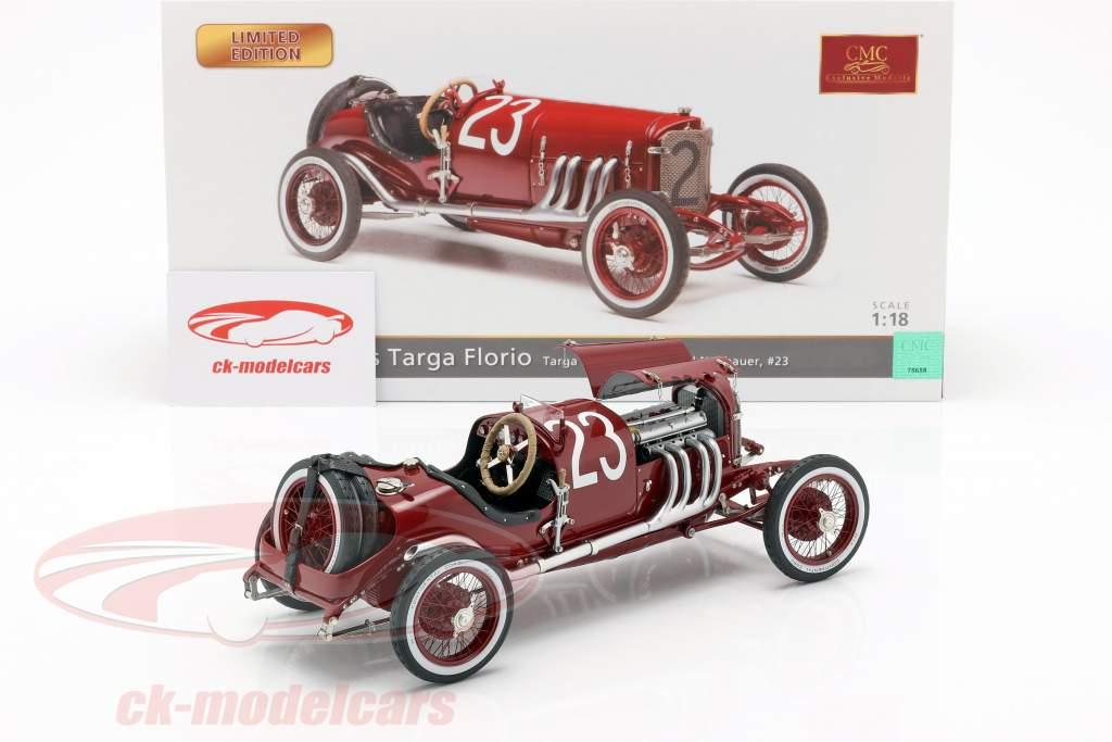 Mercedes #23 tercero Targa Florio 1924 Neubauer, Hemminger 1:18 CMC