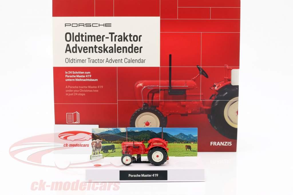 Porsche Oldtimer tracteur Calendrier de l'Avent 2019: Porsche Master 419 1:43 Franzis