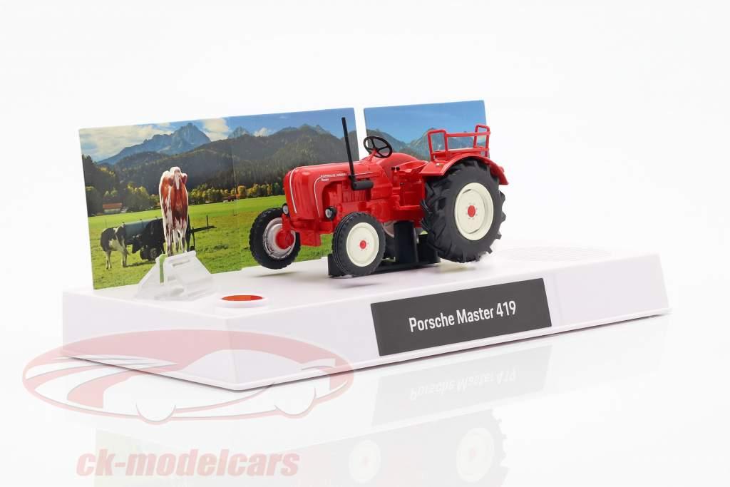 Porsche Oldtimer-Traktor Adventskalender 2019: Porsche Master 419 1:43 Franzis