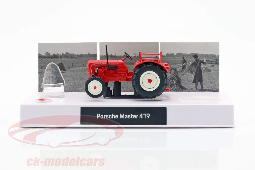 Porsche Oldtimer traktor Julekalender 2019: Porsche Master 419 1:43 Franzis