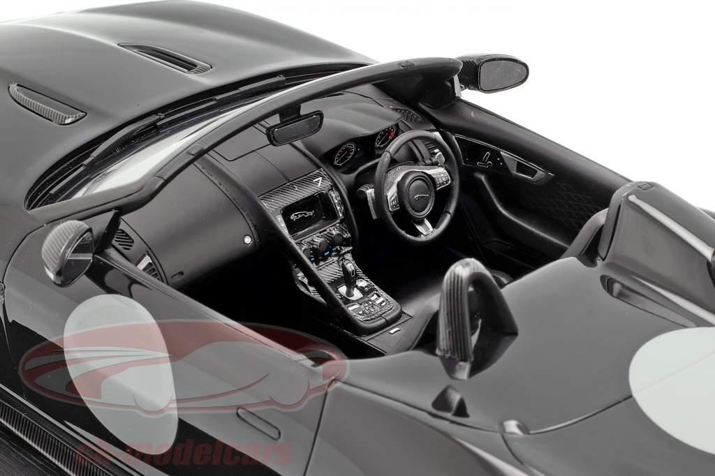 Jaguar F-Type Project 7 année de construction 2015 noir 1:18 TrueScale