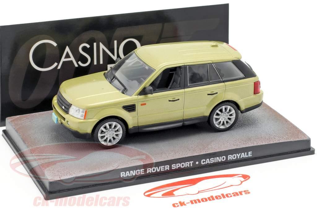 Range Rover Sport Auto James Bond film Casino Royale goud 1:43 Ixo
