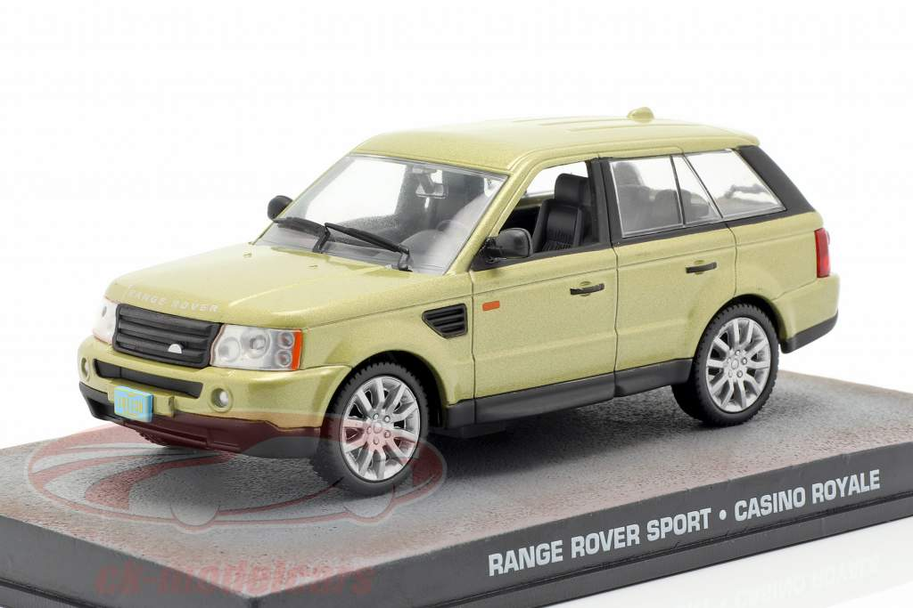 Range Rover Sport Car película de James Bond Casino Royale de oro 1:43 Ixo