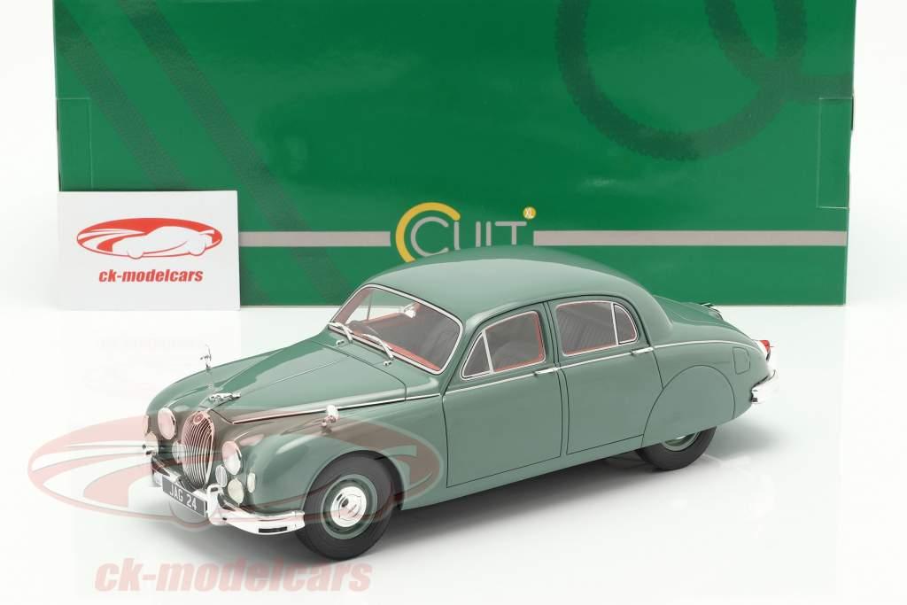 Jaguar 2.4 MKI anno di costruzione 1955 verde 1:18 Cult Scale