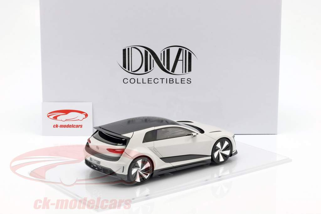 Volkswagen VW Golf GTE Sport Concept Car wit 1:18 DNA Collectibles