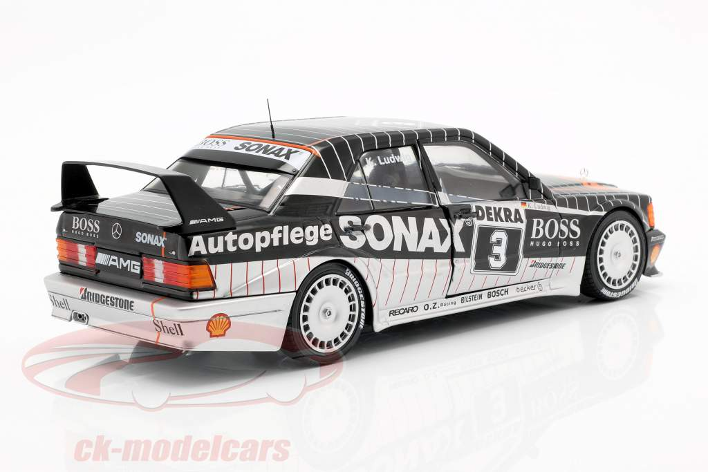 K. Ludwig Mercedes-Benz 190E 2.5-16 Evolution II #3 DTM Champion 1992 1:18 Solido
