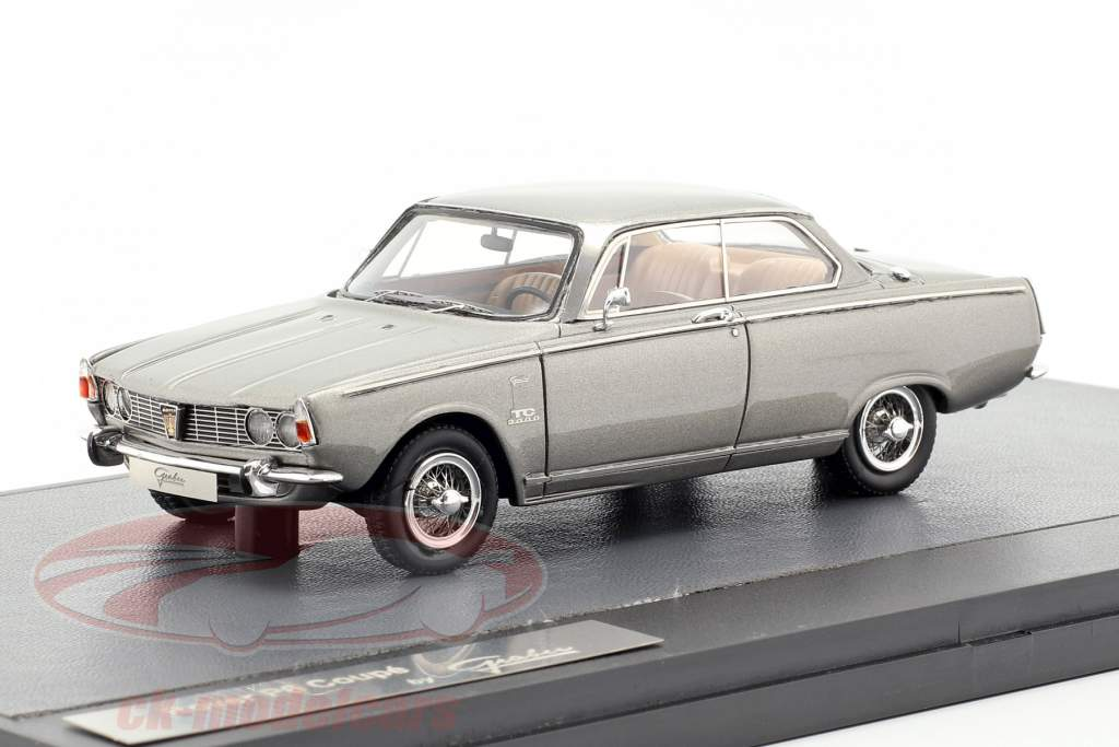 Rover P6 Graber Coupe año de construcción 1968 gris metálico 1:43 Matrix