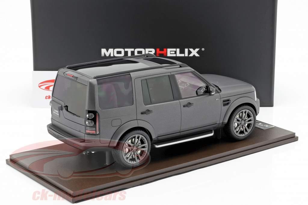 Land Rover Discovery IV Opførselsår 2016 grå 1:18 MotorHelix
