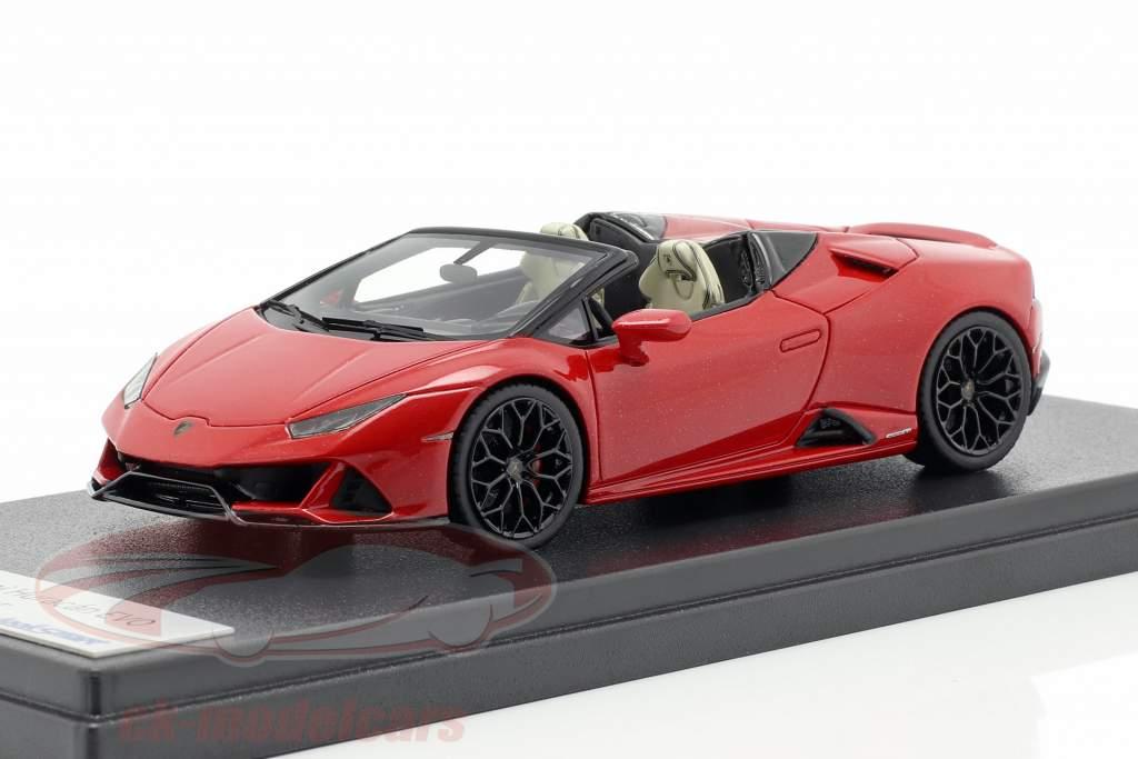 Lamborghini Huracan Evo Spyder red 1:43 LookSmart