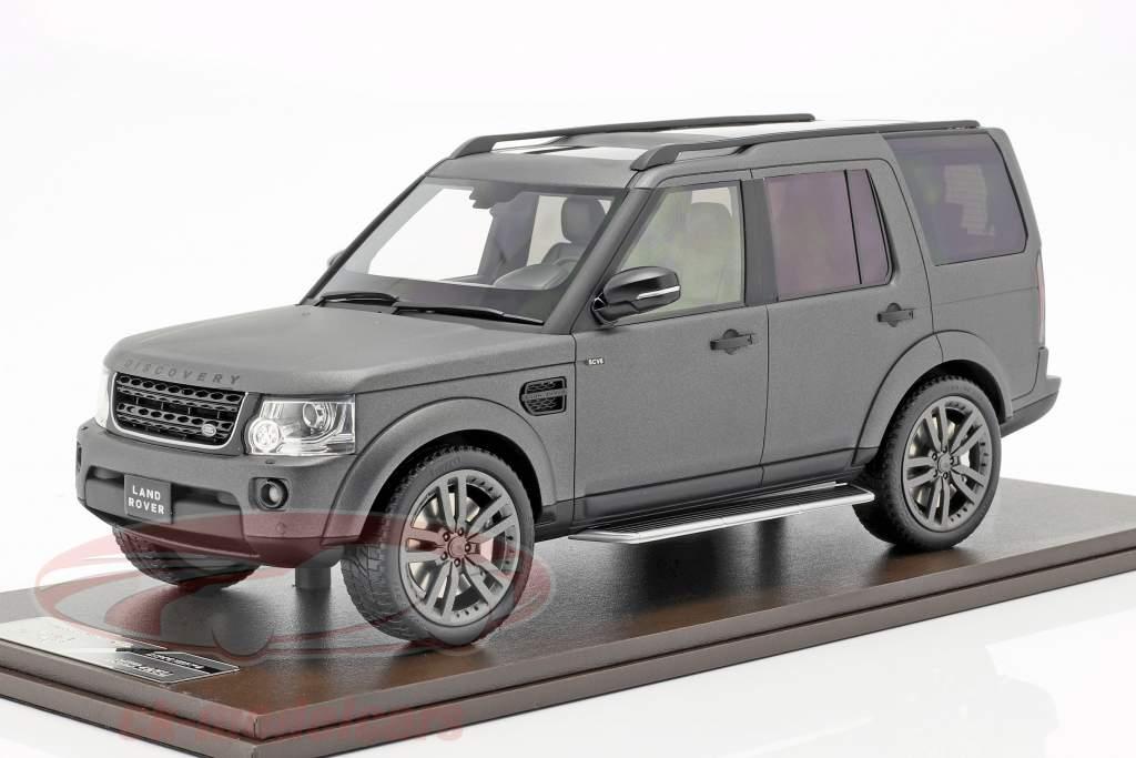 Land Rover Discovery IV ano de construção 2016 cinza 1:18 MotorHelix