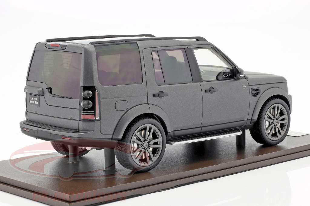 Land Rover Discovery IV anno di costruzione 2016 grigio 1:18 MotorHelix