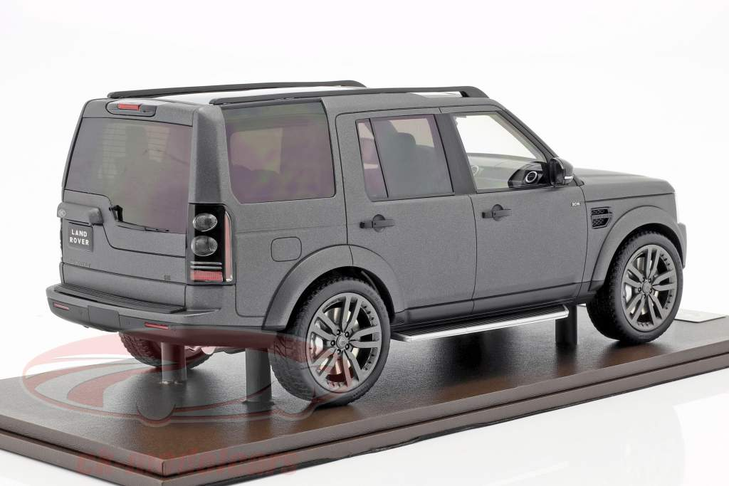 Land Rover Discovery IV Baujahr 2016 grau 1:18 MotorHelix