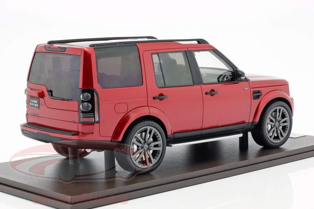 Land Rover Discovery IV année de construction 2016 rouge 1:18 MotorHelix