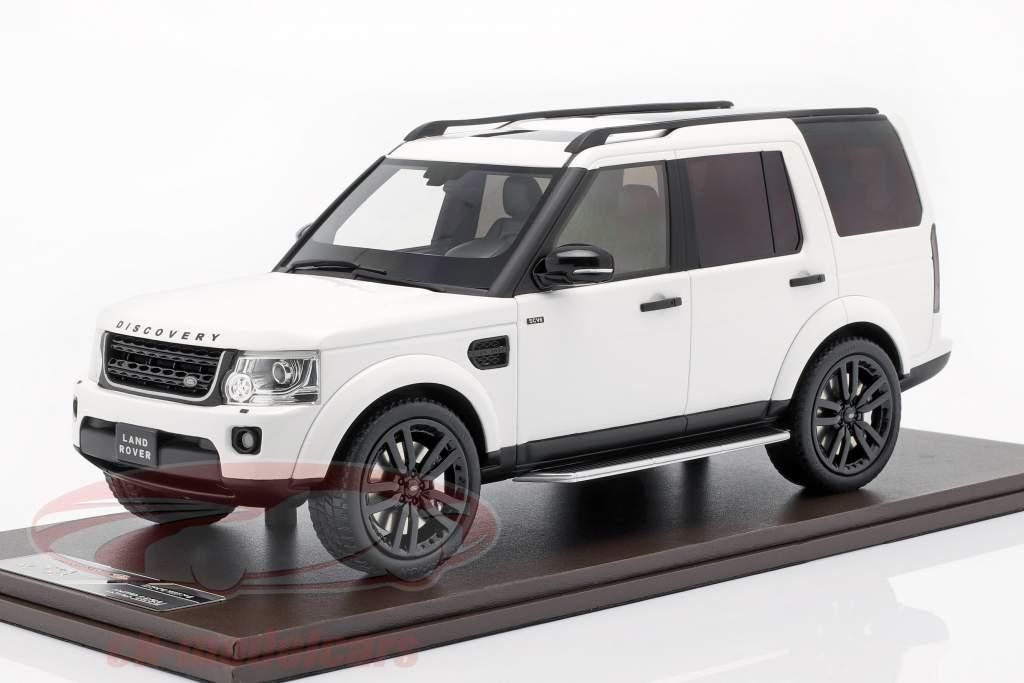 Land Rover Discovery IV año de construcción 2016 blanco 1:18 MotorHelix