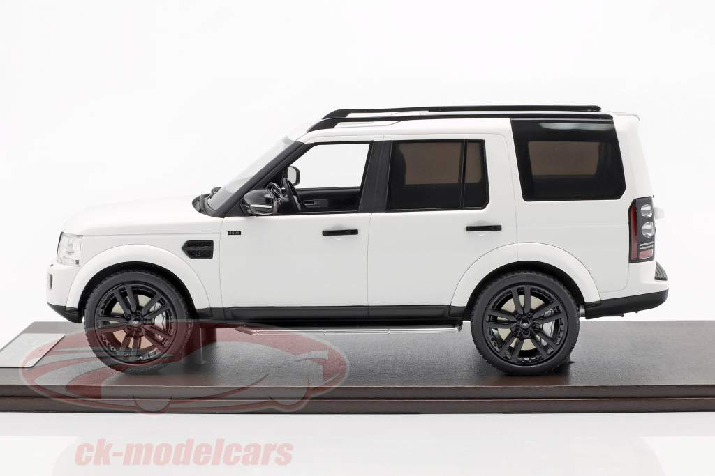 Land Rover Discovery IV anno di costruzione 2016 bianco 1:18 MotorHelix