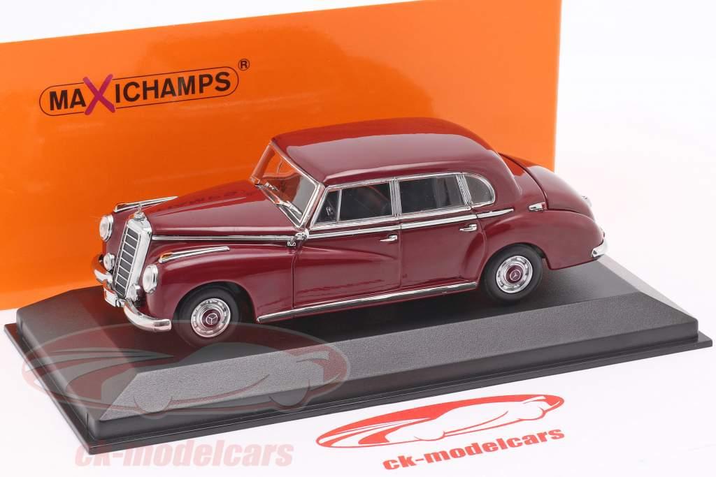Mercedes-Benz 300 (W186) année de construction 1951 pourpre 1:43 Minichamps