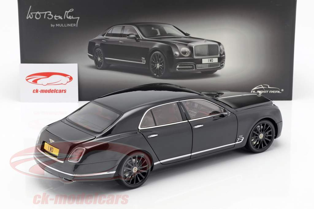 Bentley Mulsanne W. O Edition by Mulliner Centenary 2018 sort 1:18 Almost Real