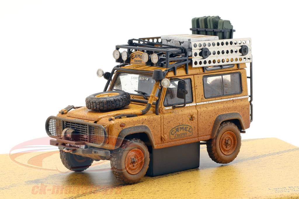 Land Rover 90 Camel Trophy Borneo 1985 Dirty Version 1:43 Almost Real