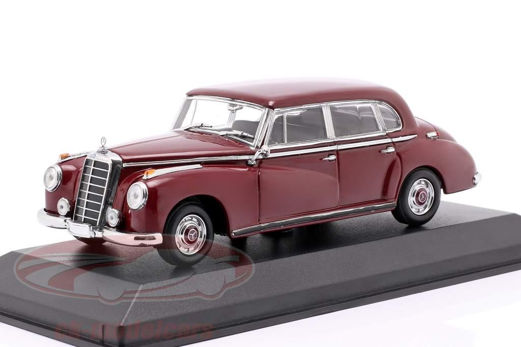 Mercedes-Benz 300 (W186) Baujahr 1951 dunkelrot 1:43 Minichamps
