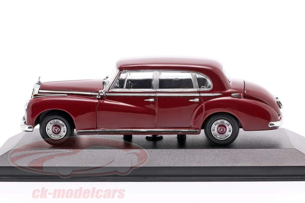 Mercedes-Benz 300 (W186) ano de construção 1951 roxo 1:43 Minichamps