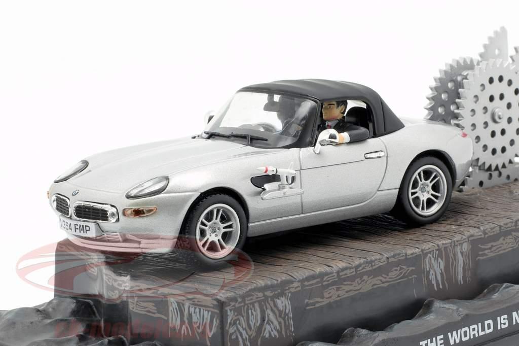 BMW Z8 James Bond Movie Car Die Welt ist nicht genug silber 1:43 Ixo
