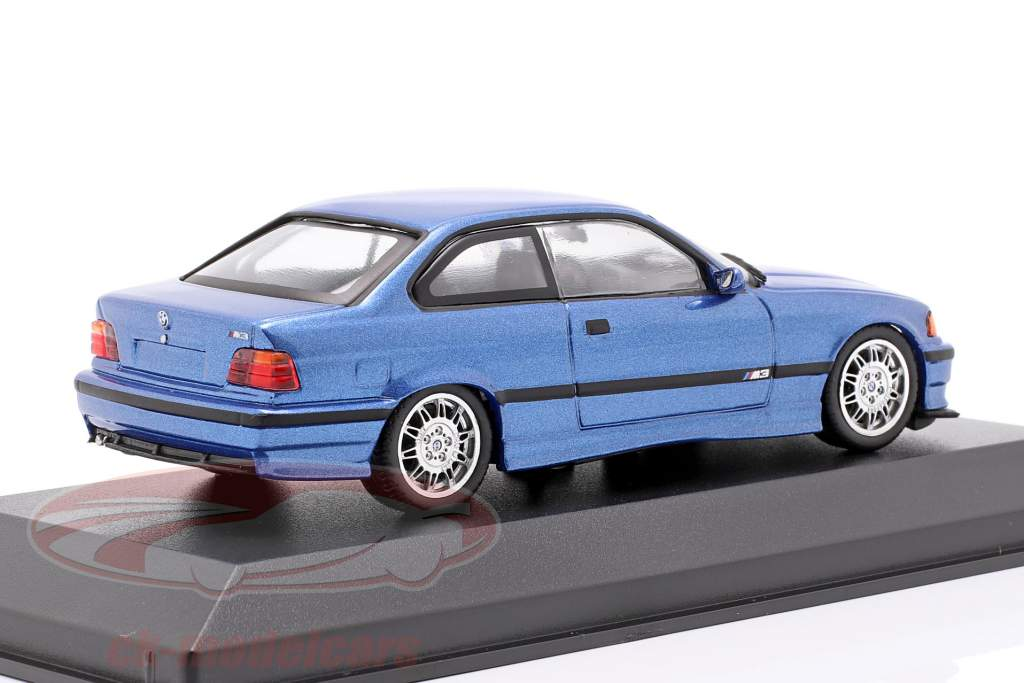 BMW M3 (E36) Opførselsår 1992 Estoril blå metallisk 1:43 Minichamps