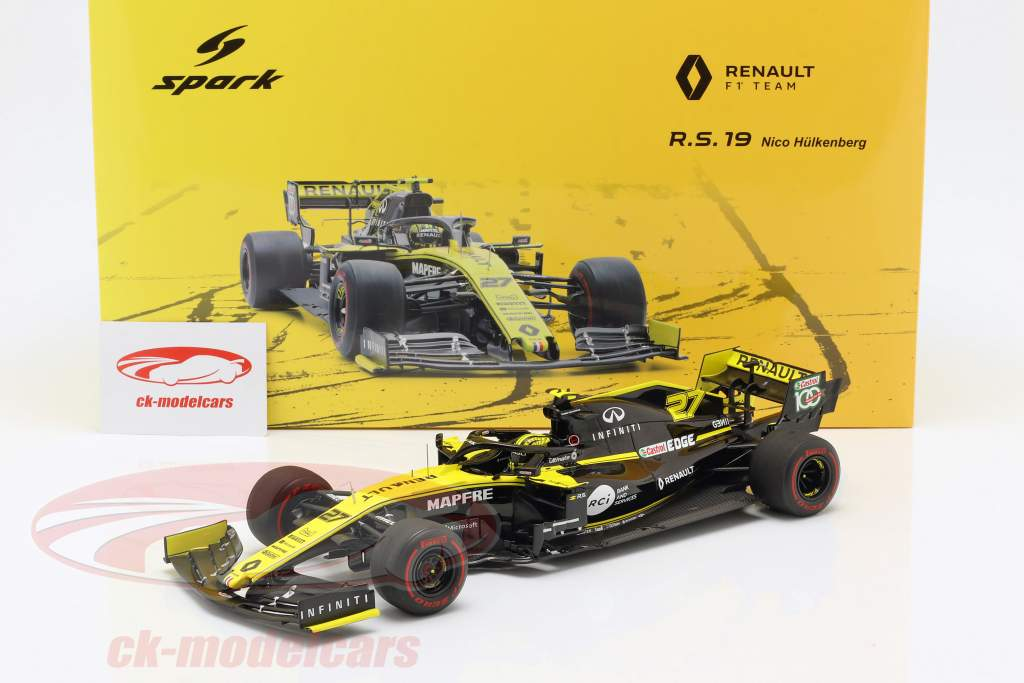 Nico Hülkenberg Renault R.S.19 #27 australiano GP formula 1 2019 1:18 Spark