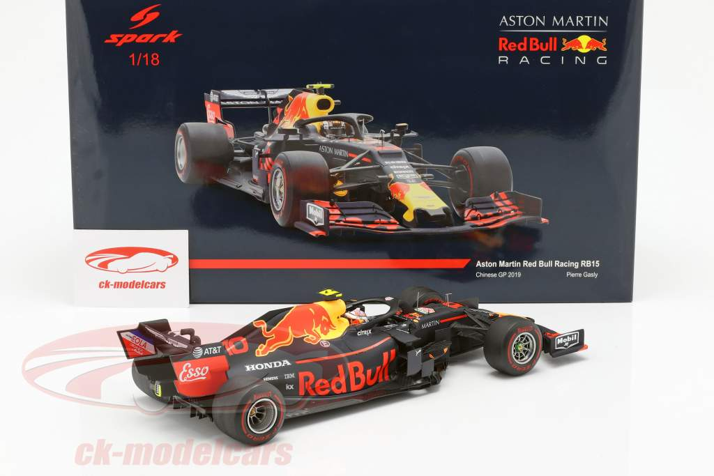 Pierre Gasly Red Bull Racing RB15 #10 6 ° cinese GP formula 1 2019 1:18 Spark