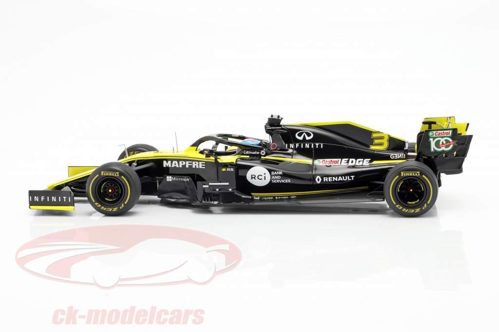 Daniel Ricciardo Renault R.S.19 #3 australske GP formel 1 2019 1:18 Spark