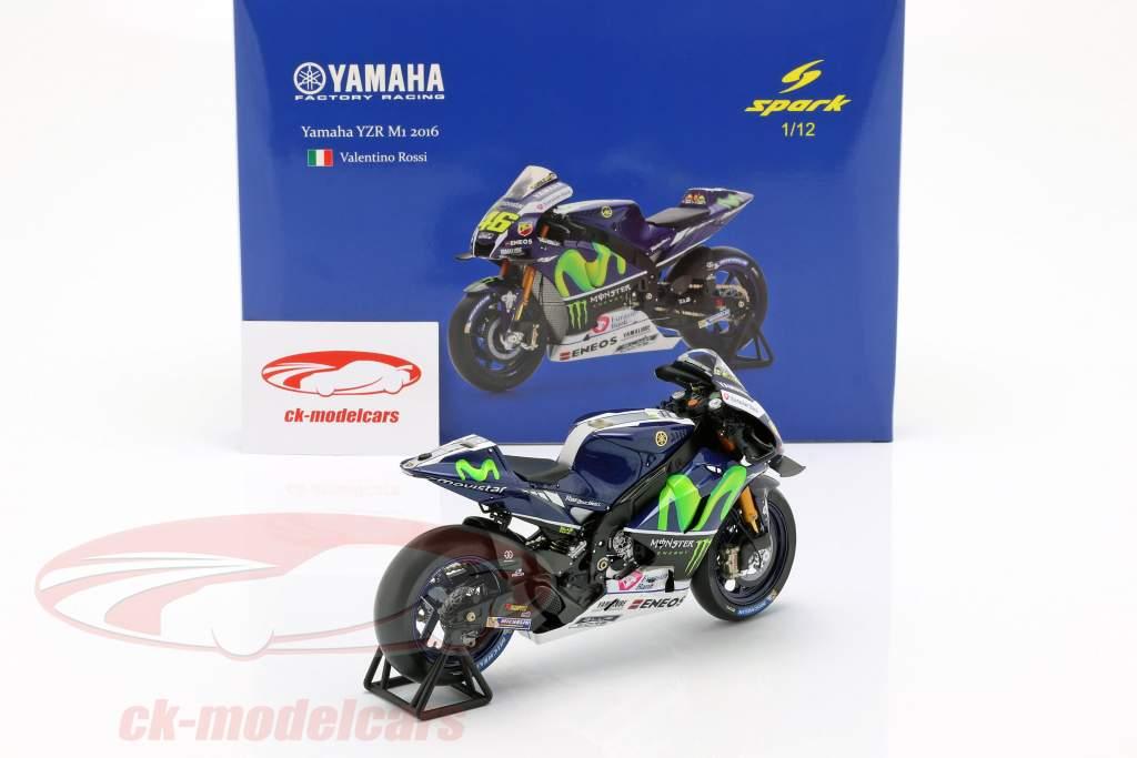 Valentino Rossi Yamaha YZR-M1 #46 ganador Jerez MotoGP 2016 1:12 Spark
