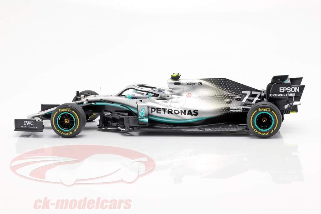 V. Bottas Mercedes-AMG F1 W10 #77 ganador australiano GP fórmula 1 2019 1:18 Spark