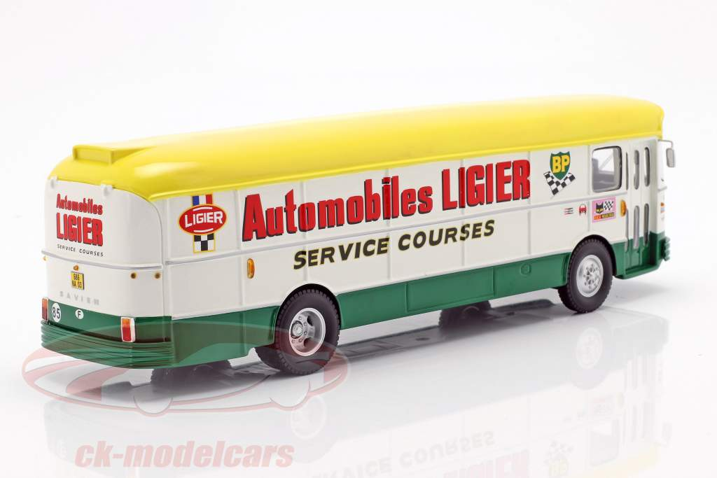 Saviem S45 course camion Team Ligier 24h LeMans 1971 1:43 Spark