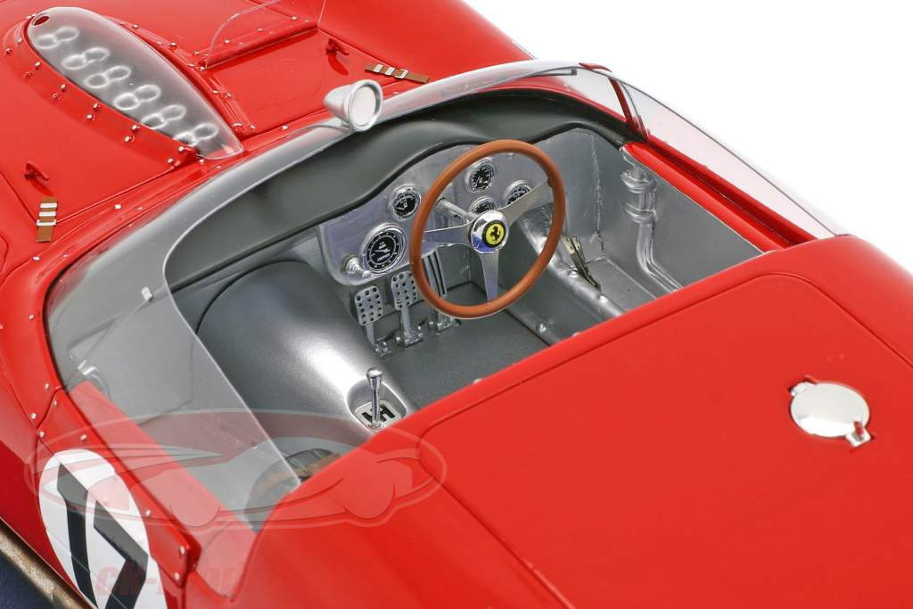 Ferrari 250 TRI/61 #17 24h LeMans 1961 P. Rodriguez, R. Rodriguez con vetrina 1:18 LookSmart