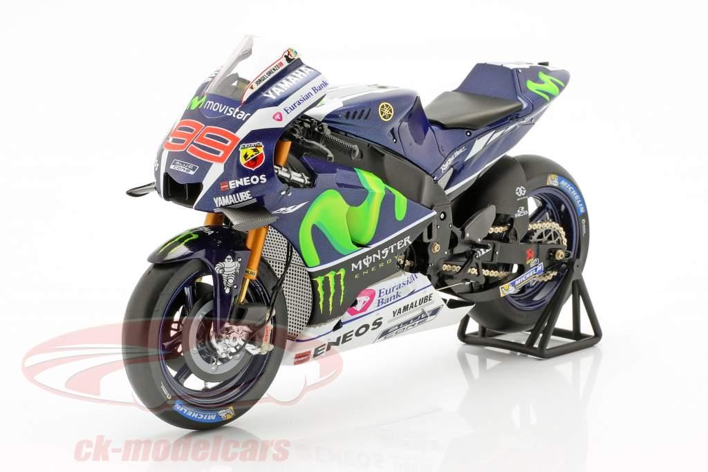 Jorge Lorenzo Yamaha YZR-M1 #99 Winner France MotoGP 2016 1:12 Spark