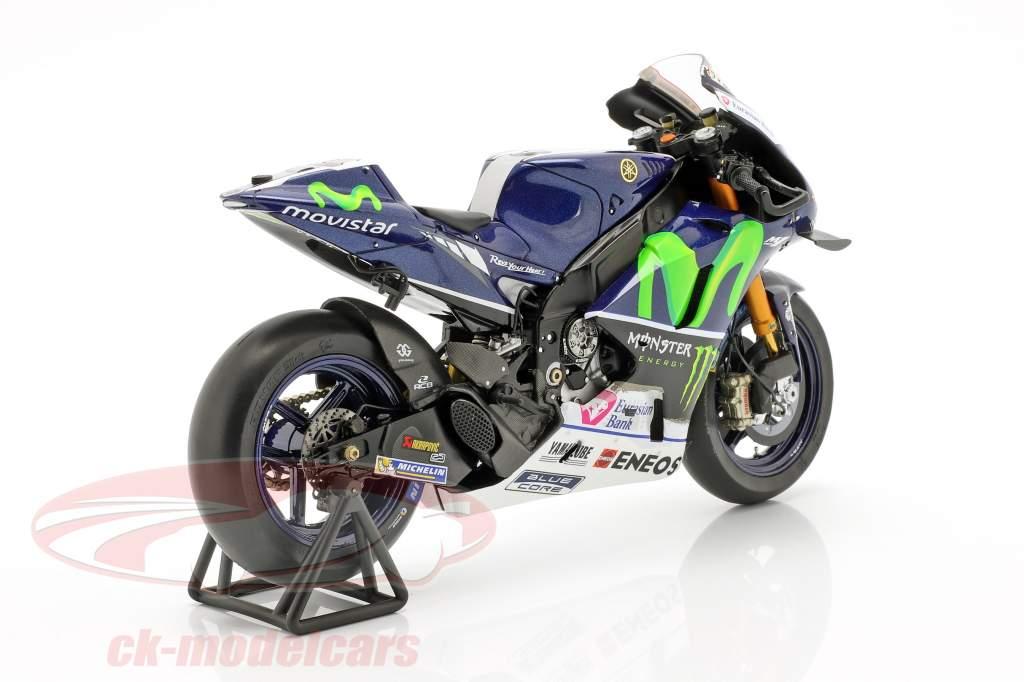 Jorge Lorenzo Yamaha YZR-M1 #99 vencedor França MotoGP 2016 1:12 faísca