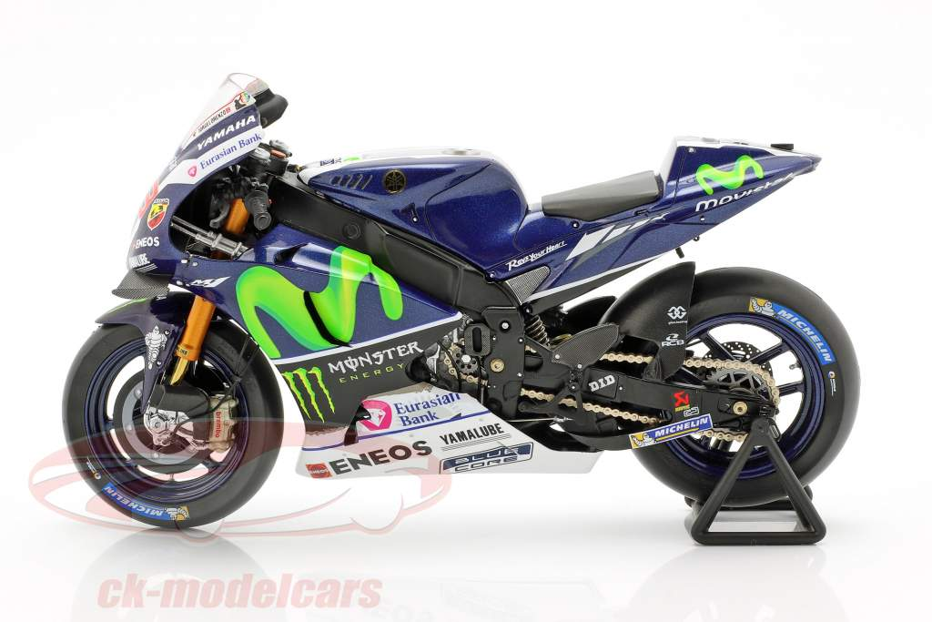 Jorge Lorenzo Yamaha YZR-M1 #99 ganador Francia MotoGP 2016 1:12 chispa