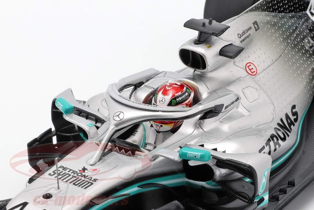L. Hamilton Mercedes-AMG F1 W10 #44 ganador chino GP fórmula 1 2019 1:18 Spark