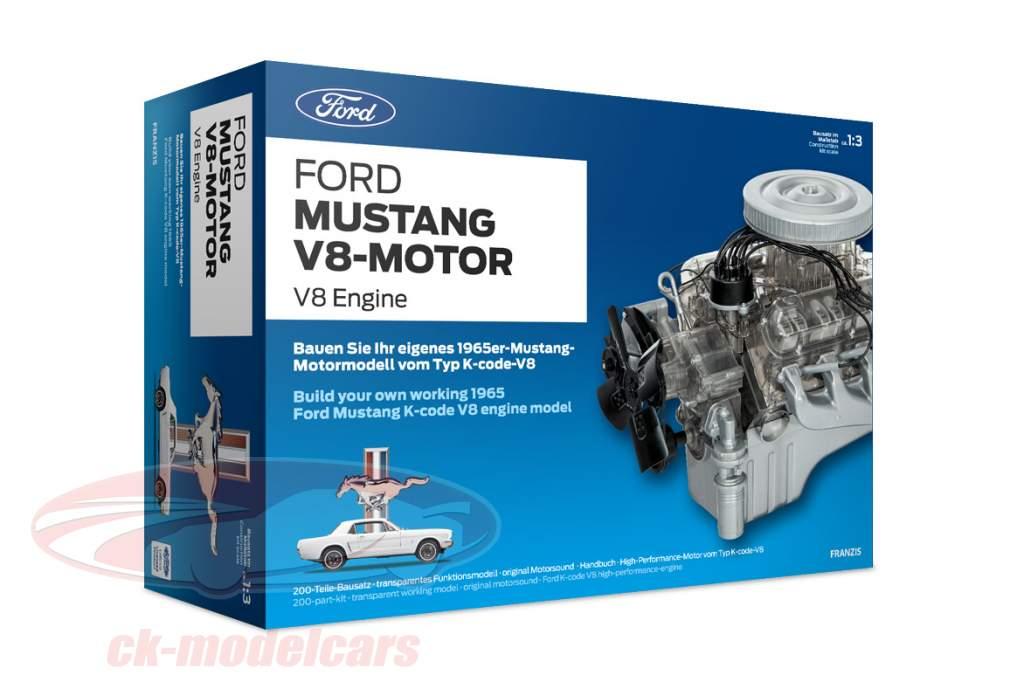 Ford Mustang motore V8 anno di costruzione 1965 kit 1:3 Franzis
